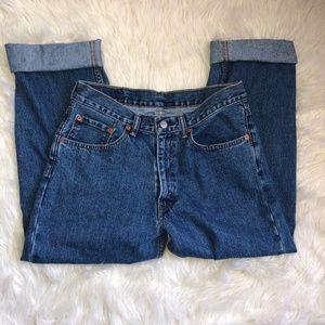 550 Vintage High Waist Levi's Mom Jeans